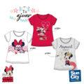 Camiseta Minnie niña ET1109