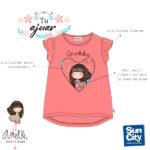 Camiseta Anekke niña SE1495