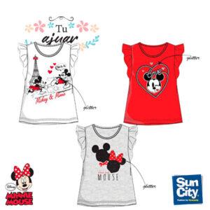 Camiseta Minnie niña ET1128