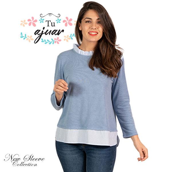 Jersey sobre camisa 21159