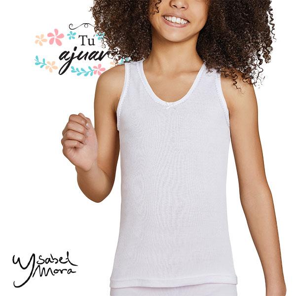 Camiseta infantil tirantas Ysabel Mora 18306