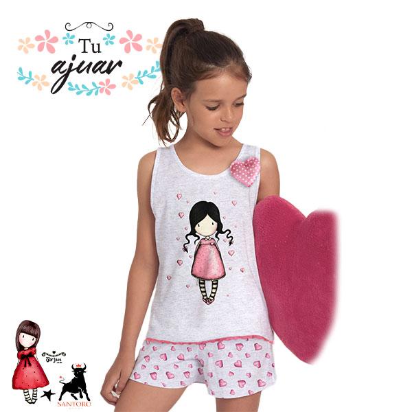 Pijama niña Gorjuss SANTORO-55575-0