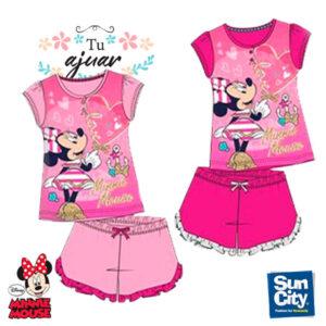 Pijama Minnie niña ET7134