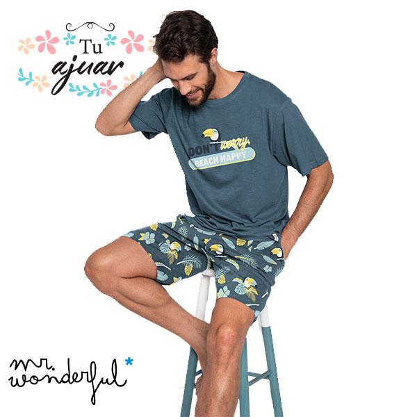 Pijama tucán MR WONDERFUL hombre-55706-0