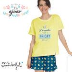 Pijama aguacates Mr Wonderful 55715-0