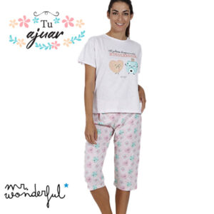 Pijama MR WONDERFUL Corazón-55724-0
