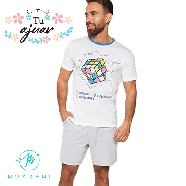 Pijama cubo de Rubik MUYDEMI-320029