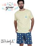 Pijama Aguacate Mr Wonderful-55705-0
