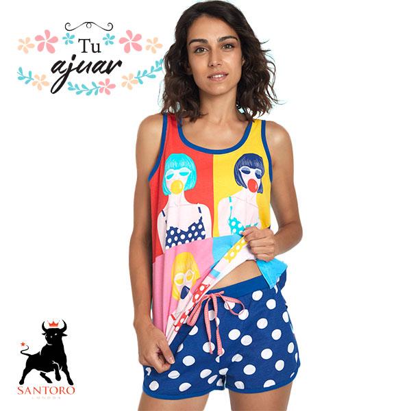 Pijama mujer Santoro-55512-0