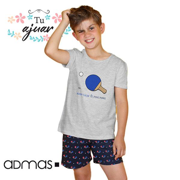 Pijama niño ping pong DIVER by ADMAS-55269-0