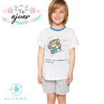Pijama cubo de Rubik Muydemi niño-720041