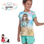 Pijama Gorjuss niña SANTORO-55578-0