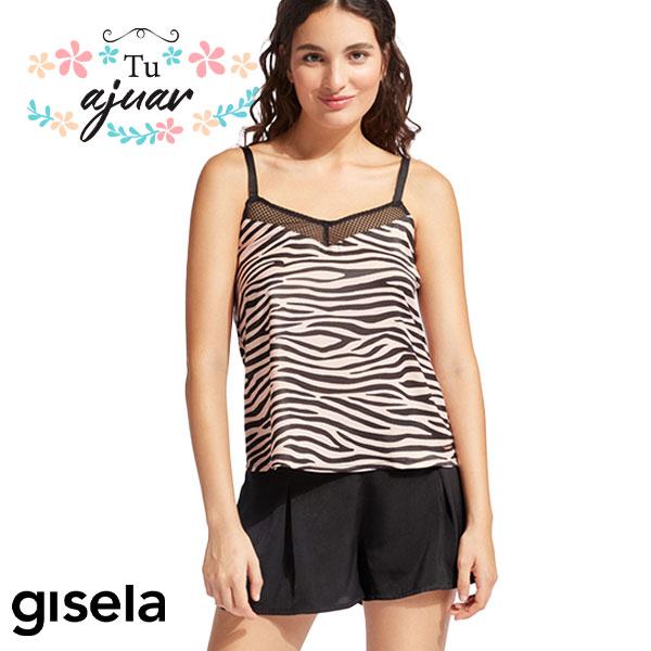 Pijama animal print GISELA