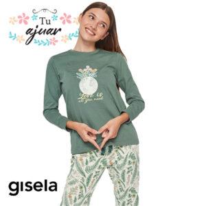 "Pijama GISELA ""Love is""-2/1820"