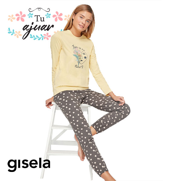 "Pijama mujer GISELA ""Planet B""-2/1821"