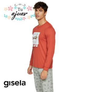Pijama PEREZOSO hombre GISELA-2/1852